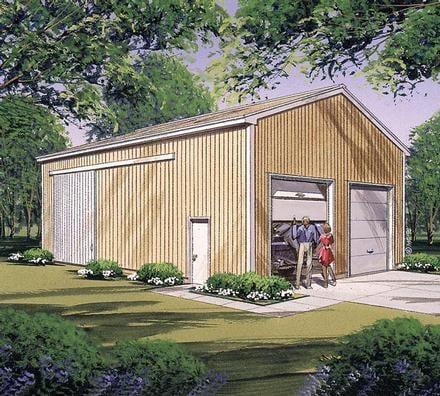 Garage Plan 87869