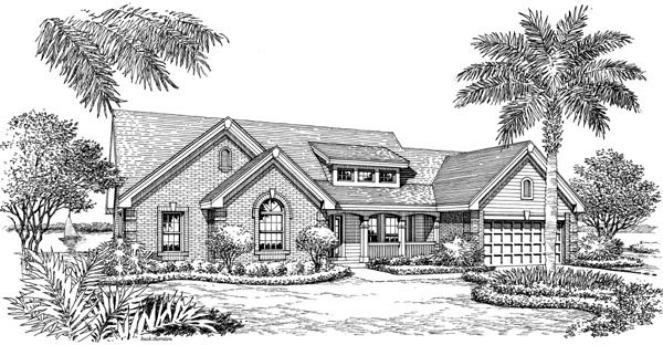 Bungalow, Country, Ranch, Traditional House Plan 87889 with 4 Beds, 3 Baths, 2 Car Garage Picture 3