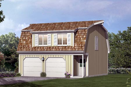 Garage plan 87892 at family home plans for Barns with apartments above