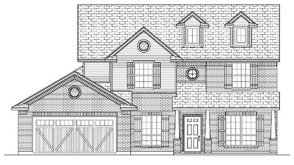 Country Farmhouse House Plan 87903 Elevation