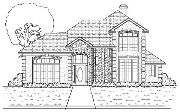 Mediterranean House Plan 87905 Elevation