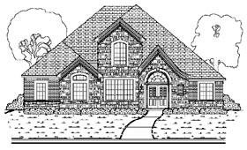 House Plan 87911