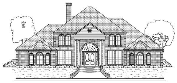 House Plan 87945