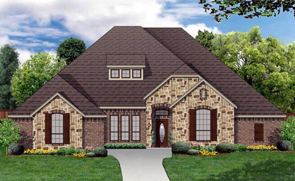 House plan 87989 at for Columbia flooring melbourne ar