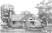 Plan Number 88170 - 1180 Square Feet