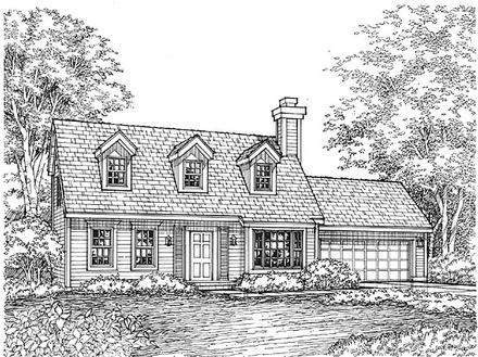 House Plan 88177