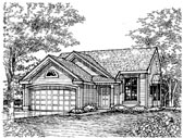 Plan Number 88190 - 1227 Square Feet