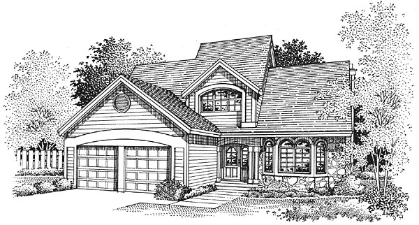Traditional House Plan 88246 Elevation
