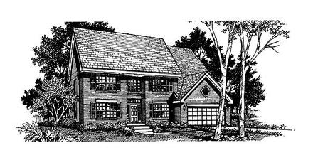 House Plan 88320