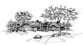 Plan Number 88400 - 4502 Square Feet