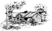 Plan Number 88448 - 1146 Square Feet