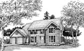 Plan Number 88472 - 2591 Square Feet