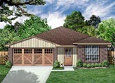 Plan Number 88609 - 1356 Square Feet