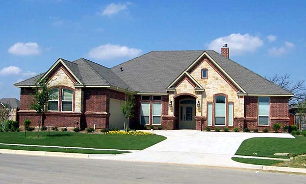 European Traditional House Plan 88625 Elevation
