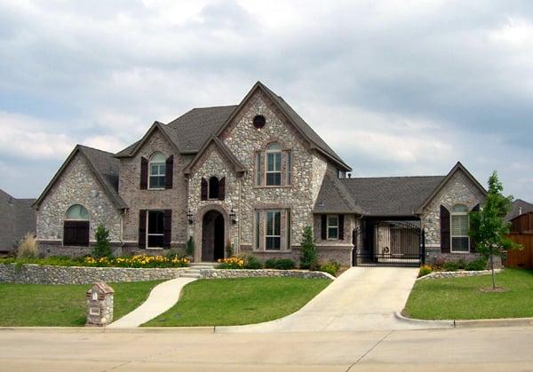 Tudor House Plan 88636