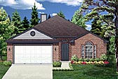Plan Number 88643 - 1328 Square Feet
