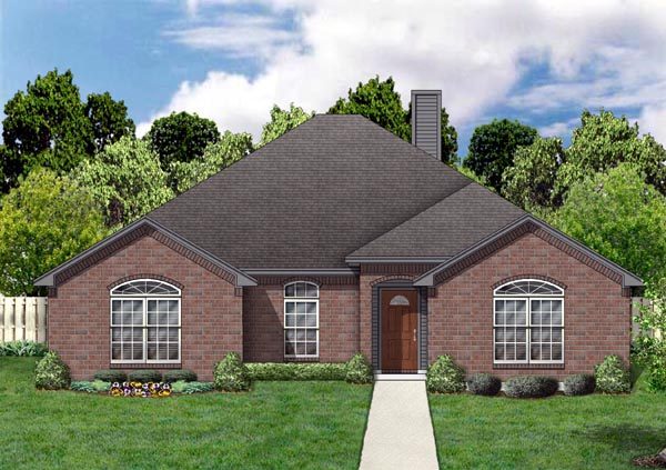 Traditional House Plan 88668 Elevation