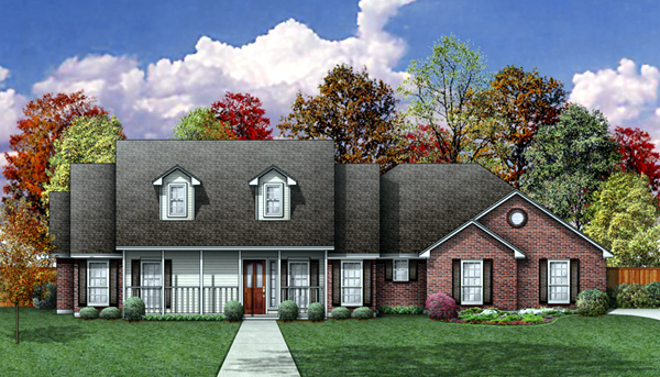Country House Plan 89801 Elevation