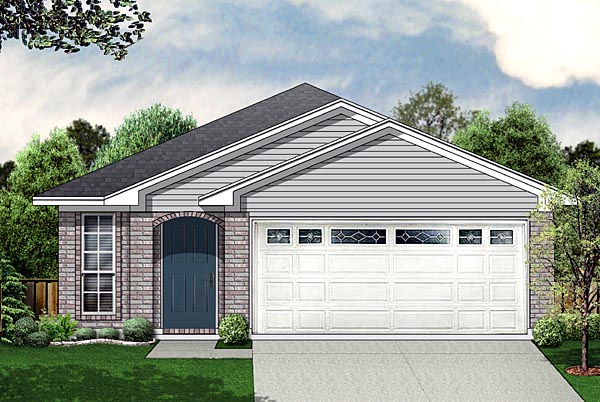 Traditional House Plan 89872 Elevation