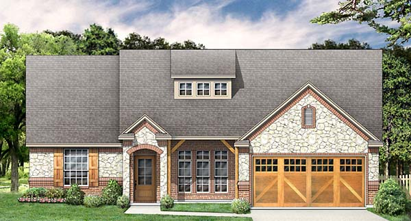 Country Traditional House Plan 89907 Elevation