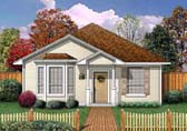 Plan Number 89911 - 1196 Square Feet