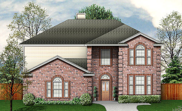Traditional House Plan 89952 Elevation