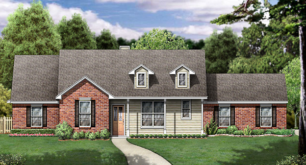 Country House Plan 89999 Elevation