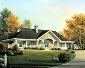 Plan Number 90199 - 1480 Square Feet
