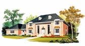 Plan Number 90232 - 4032 Square Feet