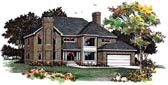 Plan Number 90262 - 2732 Square Feet