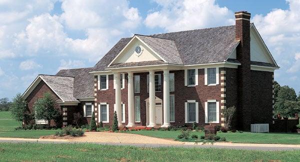 Colonial Plantation House Plan 90299 Elevation