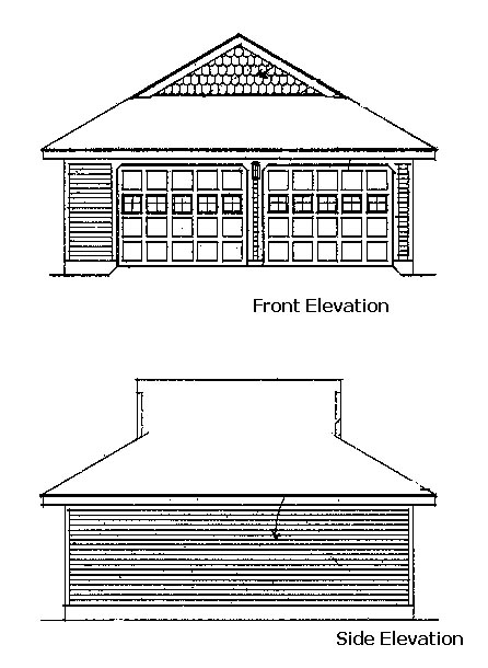 Contemporary, Country, Farmhouse, Victorian House Plan 90342 with 3 Beds, 3 Baths, 2 Car Garage Picture 1