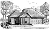 Plan Number 90346 - 1119 Square Feet