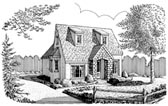 Plan Number 90398 - 717 Square Feet