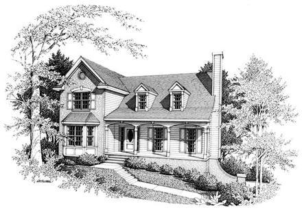 House Plan 90457