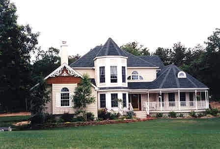 Victorian House Plan 90602 with 4 Beds, 3 Baths, 2 Car Garage Picture 1