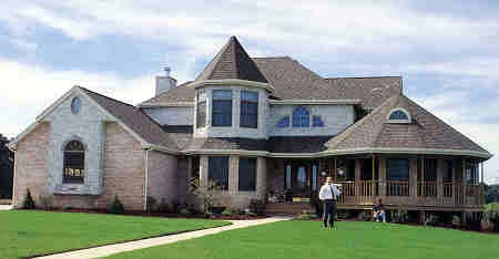 Victorian House Plan 90602 with 4 Beds, 3 Baths, 2 Car Garage Picture 2