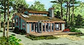 Plan Number 90621 - 1352 Square Feet