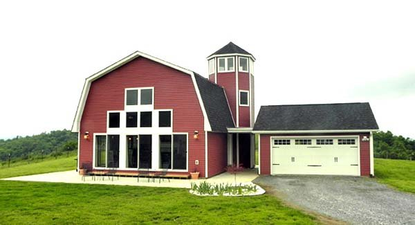 Country Farmhouse House Plan 90685 Elevation