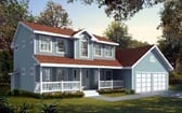 Plan Number 90743 - 1676 Square Feet