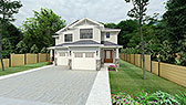 Plan Number 90811 - 2842 Square Feet
