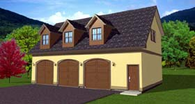 Garage Plan 90833