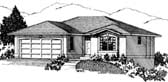 Plan Number 90880 - 1176 Square Feet