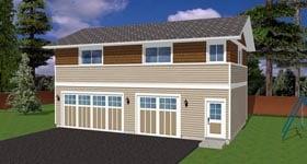 Garage Plan 90881