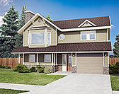 Plan Number 90914 - 1063 Square Feet