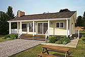 Plan Number 90934 - 884 Square Feet