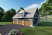 Plan Number 90941 - 880 Square Feet