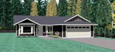 Plan Number 90956 - 1260 Square Feet
