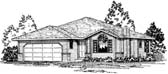 Plan Number 90982 - 1532 Square Feet