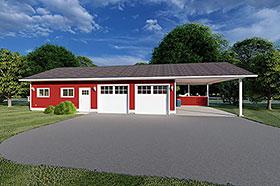 Garage Plan 90993